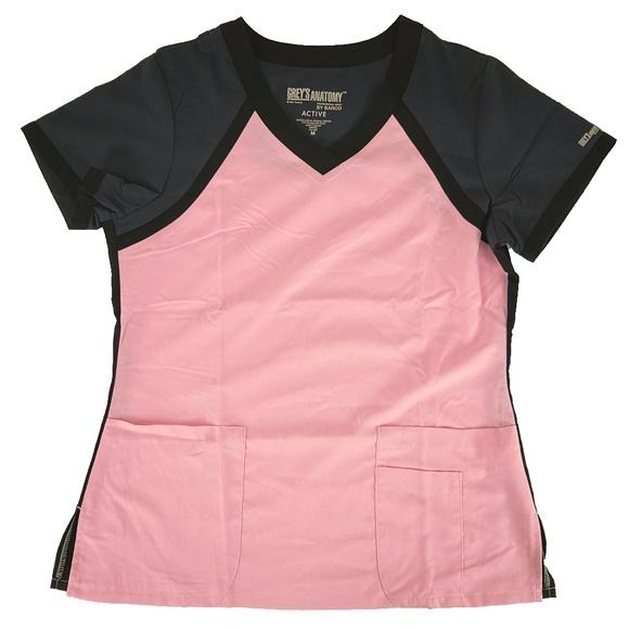 74659a411691e Grey's Anatomy Scrub Top 41435 Lilac Pearl Steel NWT